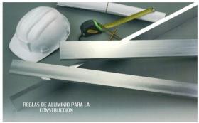 Suministros y Bricolaje 756206 - REGLA ALUMINIO 62020 60X20 2,0MT