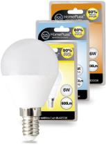 Suministros y Bricolaje 003642 - LAMPARA ESFERICA LED E14 6W 4200K