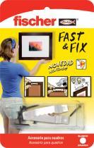 Suministros y Bricolaje 286468 - COLGADOR CUADROS 534844 FAST&FIX 3P
