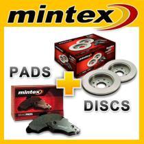 Kit disco+pastillas Mintex  Mintex
